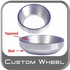 Custom Wheel Accessories Lug Nut Washers Tapered/Ball Adapter Style