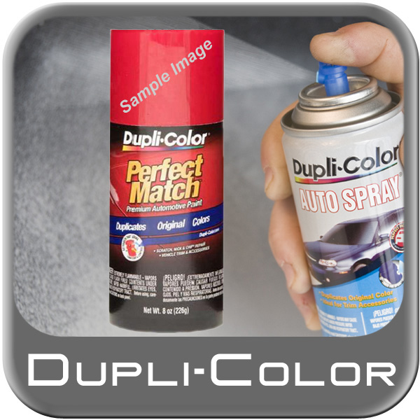 Black Metallic 202, 204 Perfect Match® Touch-Up Spray Paint 8 ounce Spray On DupliColor #BTY1566