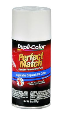 Kia Perfect Match® Touch-Up Paint Clear White Color Code UD