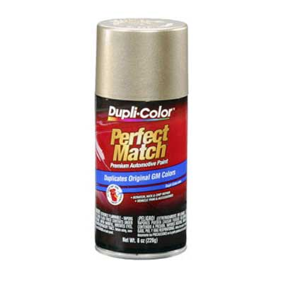 Light Driftwood Metallic 33, 5322, WA5322 Perfect Match® Touch-Up Spray Paint 8 ounce Spray On DupliColor #BGM0457