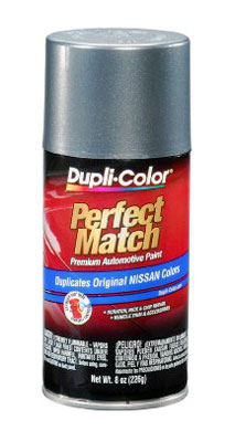 Nissan Perfect Match® Touch-Up Paint Precision Gray Color Code W40