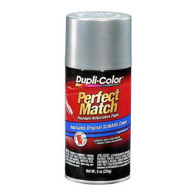 Quick Silver Metallic 262 Perfect Match® Touch-Up Spray Paint 8 ounce Spray On DupliColor #BSU1345