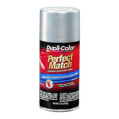 Reflex Silver Metallic LA7W Perfect Match® Touch-Up Spray Paint 8 ounce Spray On DupliColor #BVW2039