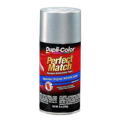 Silver Mist Metallic K12 Perfect Match® Touch-Up Spray Paint 8 ounce Spray On DupliColor #BNS0598