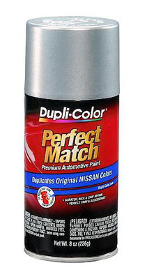 Infiniti / Nissan Perfect Match® Touch-Up Paint Silver Mist Metallic Color Code K12