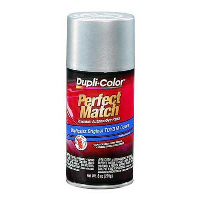 Silver Streak Mica Metallic 1E7 Perfect Match® Touch-Up Spray Paint 8 ounce Spray On DupliColor #BTY1616
