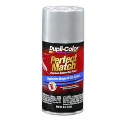 Ultra Silver 95, 96, 8867, WA8867 Perfect Match® Touch-Up Spray Paint 8 ounce Spray On DupliColor #BGM0508
