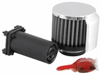 Engine Crankcase Air Filter Vent Breather Element Kit Sold Individually K&N #85-1222