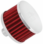 Engine Crankcase Air Filter Vent Breather Element Sold Individually K&N #62-1160