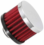 Engine Crankcase Air Filter Vent Breather Element Sold Individually K&N #62-1320