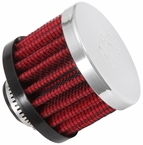 Engine Crankcase Air Filter Vent Breather Element Sold Individually K&N #62-1330