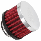 Engine Crankcase Air Filter Vent Breather Element Sold Individually K&N #62-1360