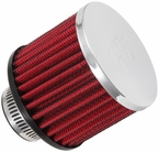 Engine Crankcase Air Filter Vent Breather Element Sold Individually K&N #62-1390