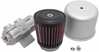 Engine Crankcase Air Filter Vent Breather Element Sold Individually K&N #62-1400