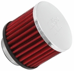 Engine Crankcase Air Filter Vent Breather Element Sold Individually K&N #62-1460