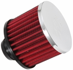 Engine Crankcase Air Filter Vent Breather Element Sold Individually K&N #62-1490