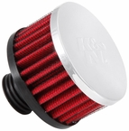 Engine Crankcase Air Filter Vent Breather Element Sold Individually K&N #62-1495