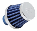 Engine Crankcase Air Filter Vent Breather Element Sold Individually K&N #62-1600BL