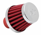 Engine Crankcase Air Filter Vent Breather Element Sold Individually K&N #62-1600RD