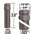 Excalibur ® Lug Nut Key Medium 7-Splined (Female) Sold Individually #98-0350