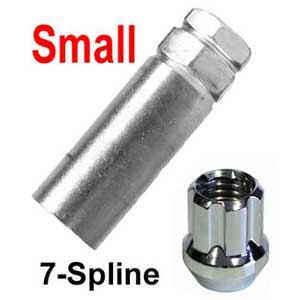 Excalibur ® Lug Nut Key Small 7-Splined (Female) Sold Individually #98-0350A