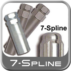 Excalibur Small, Medium & Large 7-Spline Lug Nut Keys fits 7-Groove Tuner style Lug Nuts/Wheel Locks