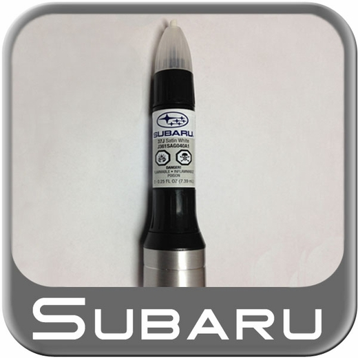 Subaru Satin White Pearl Touch Up Paint Code J