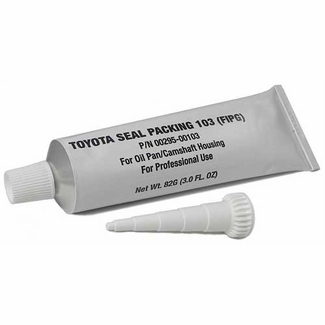 Genuine Toyota Seal Packing 103 Liquid Gasket Sealer FIPG Oil Pan Gasket/Camshaft Housing 3 oz. Tube #00295-00103