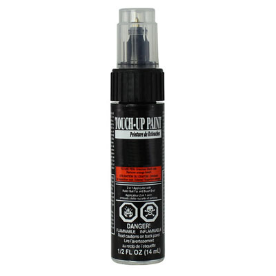 Toyota Touch-Up Paint Satin Black Metallic Color Code 205 One tube Genuine Toyota #00258-00205