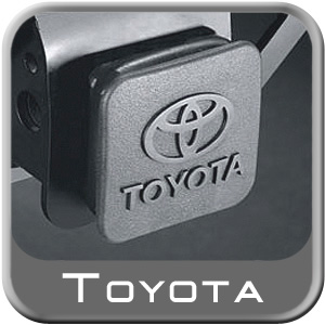 "Genuine Toyota Trailer Hitch Cover Black Rubber w/Toyota Logo Fits all 2"" Hitches"