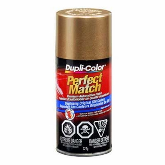 Gold Metallic 60, 398E, WA398E Perfect Match® Touch-Up Spray Paint 8 ounce Spray On DupliColor #BGM0491