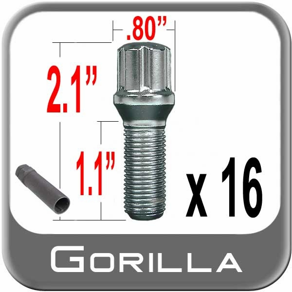 Small Diameter Lug Bolts