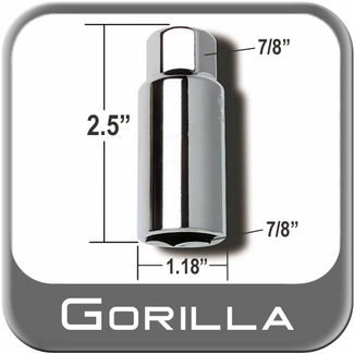 "Gorilla ® Thin Wall Lug Adapter 7/8"" Male x 7/8"" Female Sold Individually #7878"