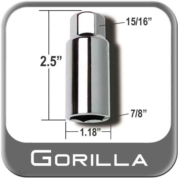 "Gorilla ® Thin Wall Lug Adapter 15/16"" Male x 7/8"" Female Sold Individually #1578"
