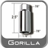 "Gorilla Thin Wall Lug Adapter 7/8"" Male x 7/8"" Female"
