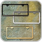 License Plate Frames & Accessories