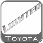 """LIMITED"" Emblem Badge"