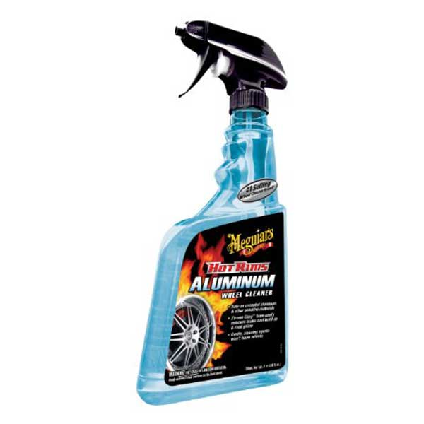 Meguiars Hot Rims Aluminum Wheel Wash 24 oz. Trigger Spray Bottle #G14324
