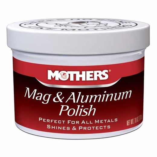 Mothers Mag & Aluminum Polish Paste Paste Polish 10 oz. Tub #05101