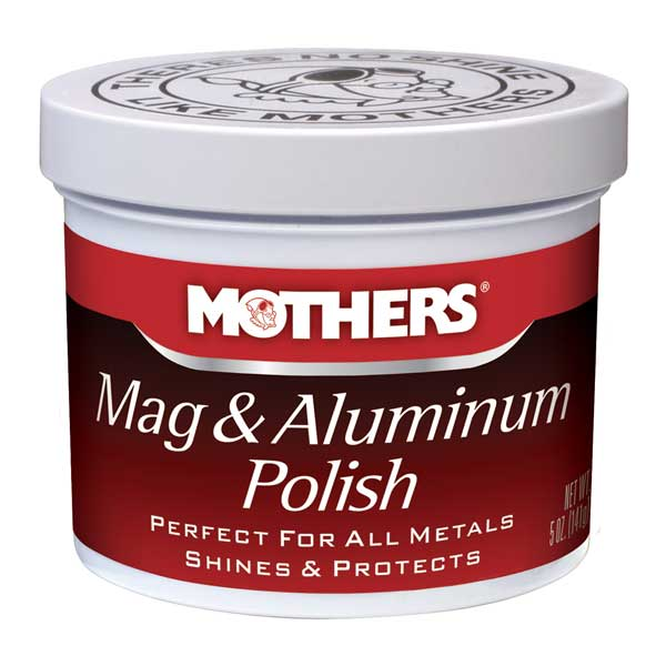 Mothers Mag & Aluminum Polish Paste Paste Polish 5 oz. Tub #05100