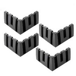 Nifty Nifty Cargo-Logic Cargo Locks Charcoal Lock Blocks Set of 4 #700100
