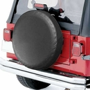 Black Spare Tire Cover