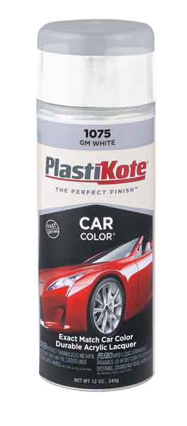 General Motors Touch-Up Paint White Color Code 11, 3967, WA3967
