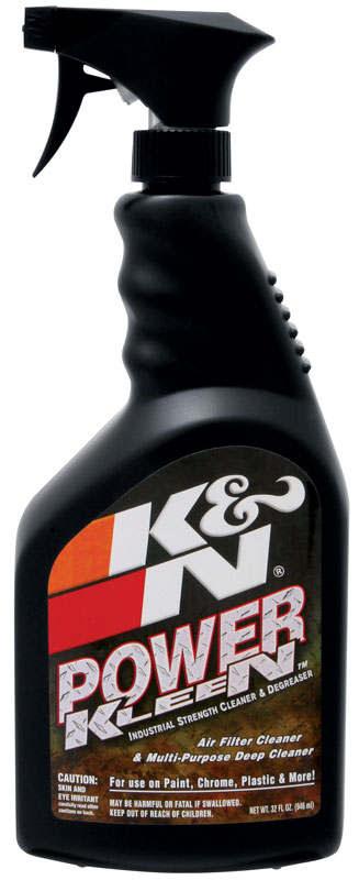 Power Kleen; Filter Cleaner - 32 oz Trigger Sprayer Sold Individually K&N #99-0621