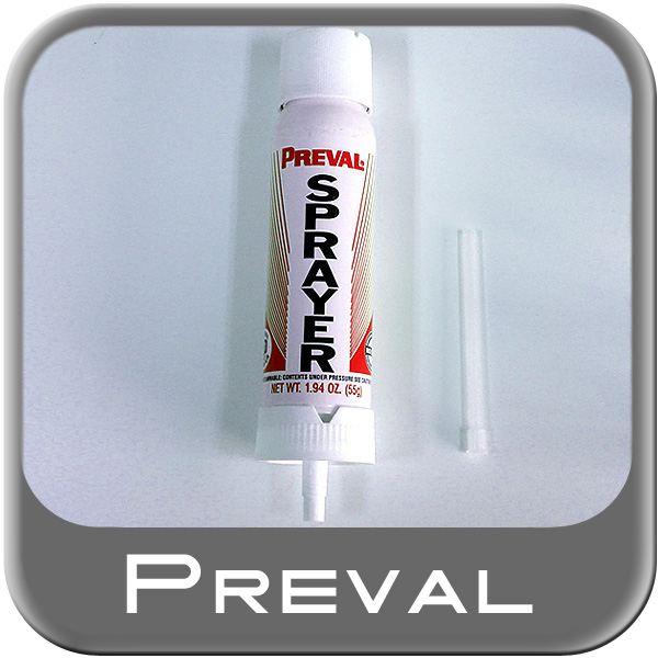 Preval Spray Gun Refill Aerosol Paint or Chemical Sprayer Disposable 1.94oz. Propellant Refill