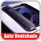 Slider Style Sunroof Wind Deflector