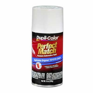 Super White II 040 Perfect Match® Touch-Up Spray Paint 8 ounce Spray On DupliColor #BTY1556
