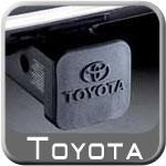 """Toyota Trailer Hitch Cover Black Rubber w/Toyota Logo Fits all 2"""" Hitches Genuine Toyota #PT228-35960-HP"""