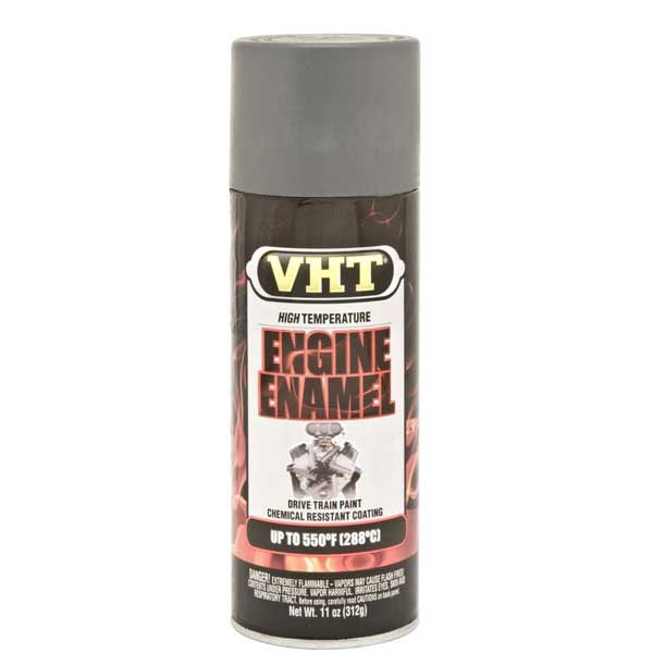 Light Gray Engine Enamel® High Temp Spray Primer 11 ounce Spray On VHT #SP148