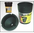 Victor Butt Bucket Ashtray Extinguishing Ashtray Black Plastic w/Lid Sold Individually #37012NF